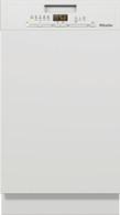 MIELE 45CM BRILLIANT WHITE SEMI-INTEGRATED DISHWASHER - G5430SCi BRWS