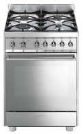 SMEG 60CM ALL GAS FREESTANDING OVEN - C6GVXA8