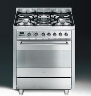 SMEG 70CM ALL GAS FREESTANDING OVEN - C7GVXA8