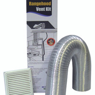 DEFLECTO 125MM EAVE DUCTING KIT - RHK125E