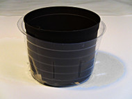 "5"" Clear Plastic Saucer - use with 4"" culture pot"