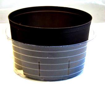 "8"" saucer with 7"" culture pot"