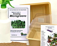 "Microgreens Starter Set with 8""x 8"" Grower Trays"