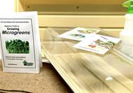 "Microgreens Starter Set   with 22"" x 11"" Grower Trays"