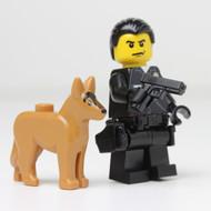"""LAPD K-9 Officer Joe & Police Dog """"Ultra Dog"""""""
