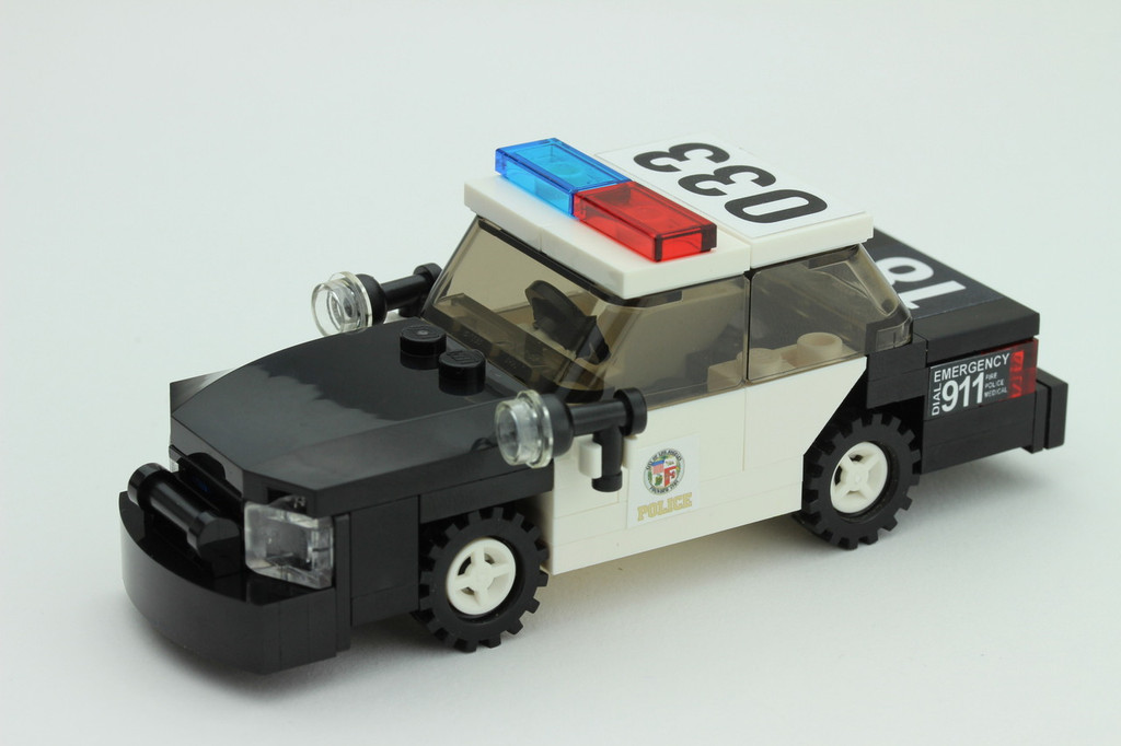 Lego Police Car Lapd Ford Crown Victoria