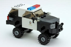 LAPD 4x4 Chevy Suburban