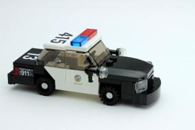 LAPD Crown Victoria - Patrol Unit | Steelie Hubs