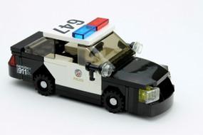 LAPD Ford Police Interceptor - Custom Rims