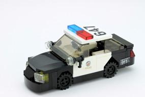 LAPD Ford Police Interceptor - Black Rims