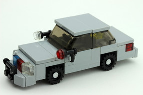 Unmarked Crown Victoria - Tactical Edition | Gray | Custom Hubs