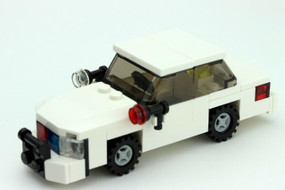 Unmarked Crown Victoria - Tactical Edition | White