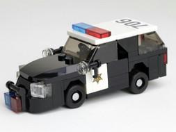 "Orange County Sheriff - Ford Explorer | ""Steelie"" hub caps"