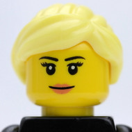 Female Head - blonde - smirk