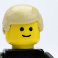Male Head - blonde - Officer Happy