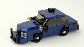"LIMITED RELEASE - Modesto Police - Crown Victoria - Gang Unit | ""Steelie"" hubs | ""Blue Dragon"""