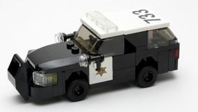 Orange County Sheriff - Ford Explorer | Black Rims | Non-activated light bar | larger push bar
