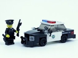San Francisco Police - Crown Victoria and Officer bundle