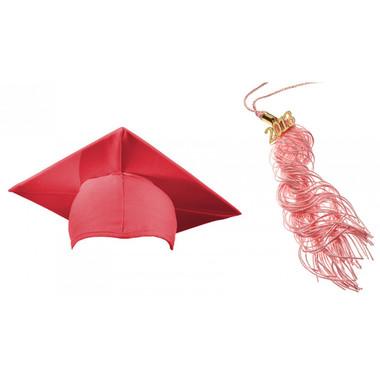 Shown is matte pink cap & tassel package (Cool School Studios 0129).