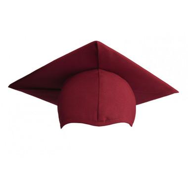 Shown is matte maroon cap (Cool School Studios 0064), front view.