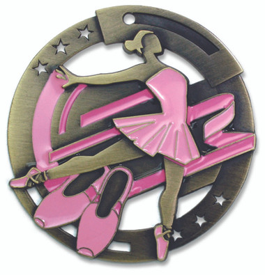 Ballet Enameled Medal from Cool School Studios.