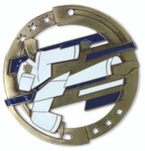 Martial Arts Enameled Medal from Cool School Studios.