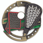 Lacrosse Enameled Medal from Cool School Studios.