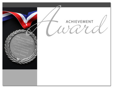 Lasting Impressions Achievement Award, Style 1 (Cool School Studios 02001).