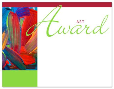 Lasting Impressions Art Award, Style 1 (Cool School Studios 02002).