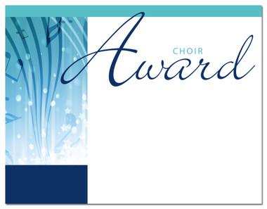 Lasting Impressions Choir Award, Style 1 (Cool School Studios 02007).