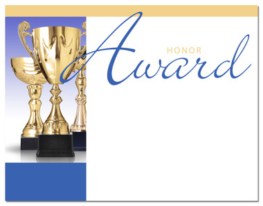 Lasting Impressions Honor Award, Style 1 (Cool School Studios 02012).