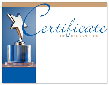 Lasting Impressions Certificate of Recognition, Style 1 (Cool School Studios 02025).