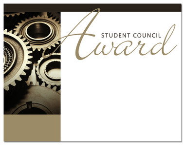 Lasting Impressions Student Council Award, Style 1 (Cool School Studios 02026).