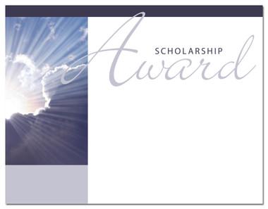 Lasting Impressions Scholarship Award, Style 1 (Cool School Studios 02027).