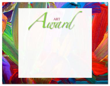 Lasting Impressions Art Award, Style 2 (Cool School Studios 02102).