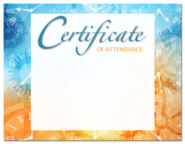 Lasting Impressions Certificate of Attendance, Style 2 (Cool School Studios 02104).