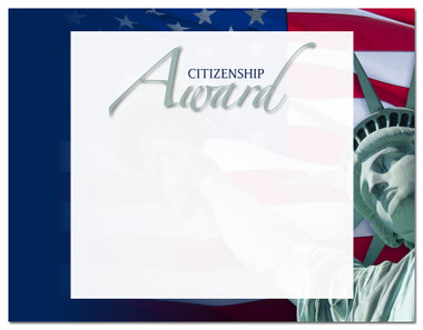 Lasting Impressions Citizenship Award, Style 2 (Cool School Studios 02108).