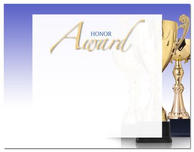 Lasting Impressions Honor Award, Style 2 (Cool School Studios 02111).