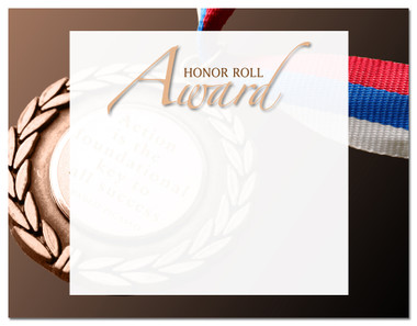 Lasting Impressions Honor Roll Award, Style 2 (Cool School Studios 02112).