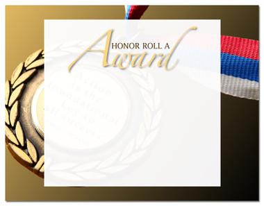 Lasting Impressions Honor Roll A Award, Style 2 (Cool School Studios 02113).