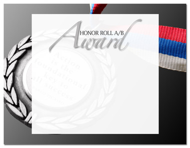 Lasting Impressions Honor Roll A/B Award, Style 2 (Cool School Studios 02114).