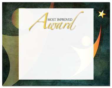 Lasting Impressions Most Improved Award, Style 2 (Cool School Studios 02117).