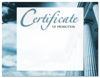 Lasting Impressions Certificate of Promotion, Style 2 (Cool School Studios 02122).