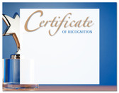 Lasting Impressions Certificate of Recognition, Style 2 (Cool School Studios 02124).