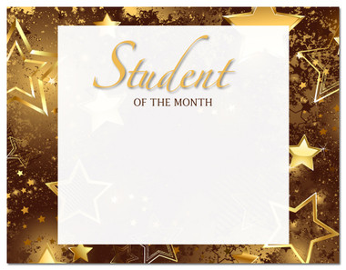 Lasting Impressions Student of the Month, Style 2 (Cool School Studios 02130).