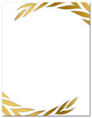 Gold Foil Embossed Wreath Award from Cool School Studios.