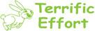 Image shows imprint of Terrific Effort Stamp (35160).