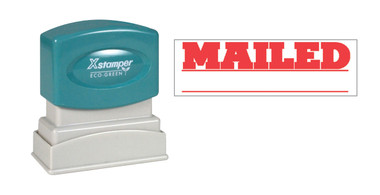 Image of single-color MAILED XStamper (1218) from Cool School Studios.