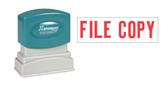 1-Color FILE COPY Xstamper® - Style 1