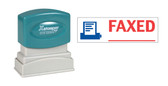 2-Color FAXED Xstamper®